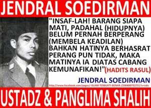 Panglima Besar Indonesia Jenderal Sudirman