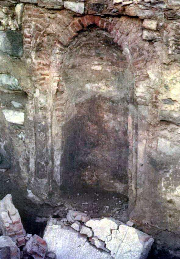 mihrab tempat rasul sholat