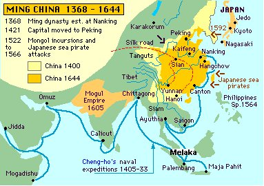 dinasty ming china 1368 - 1644