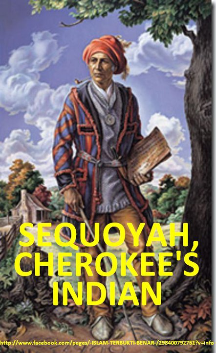 sequoyah cherokees indian