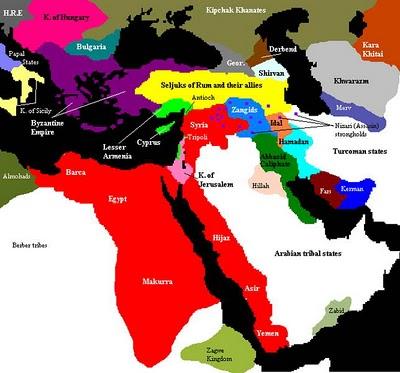 wilayah kekuasaan salahuddin