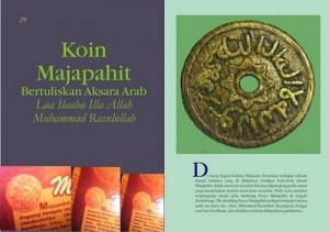 Koin emas kerajaan majapahit