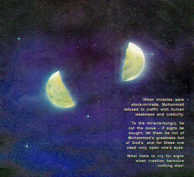 mukjizat nabi muhammad membelah bulan